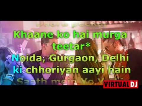 party all night karaoke with lyrics by sahil bhonde