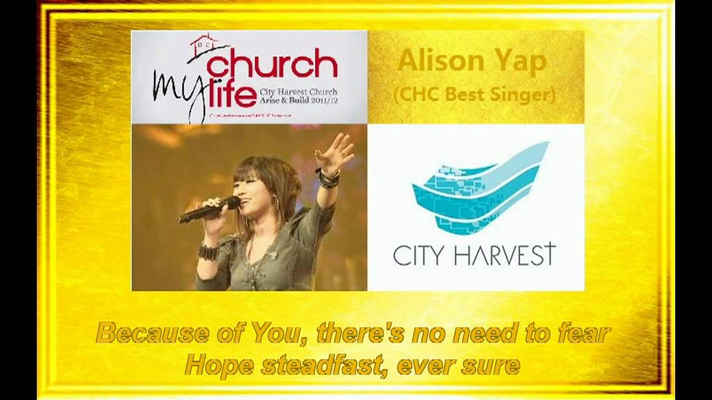 Alison Yap CHC - Because of You (Lyrics) - YouTube