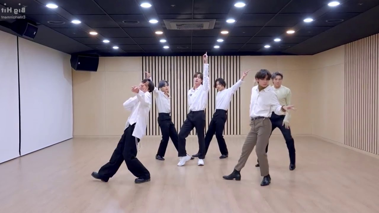 Download BTS (방탄소년단) 2020 MMA 'Dynamite' 'Dance Break' Practice Mirror Choreography.