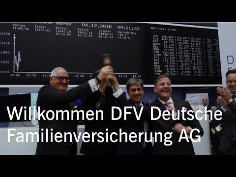 Börsengang (IPO) DFV Deutsche Familienversicherung AG