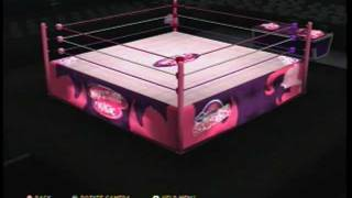 "WWE' 12: ""My Little Superstars"" Created Arena"
