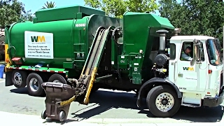 Various Trucks - 1 Hour of Garbage Trucks In Action