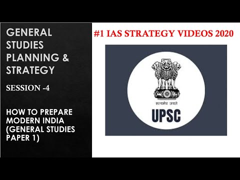 MISSION UPSC/IAS 2018- MODERN INDIA STRATEGY FOR PRELIMS & MAINS by IAS MINDMAPS