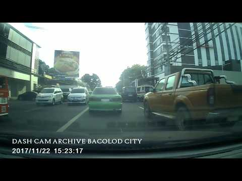 Dash cam Bacolod City - The district north point talisay going to Lacson St. , Taculing Bacolod City