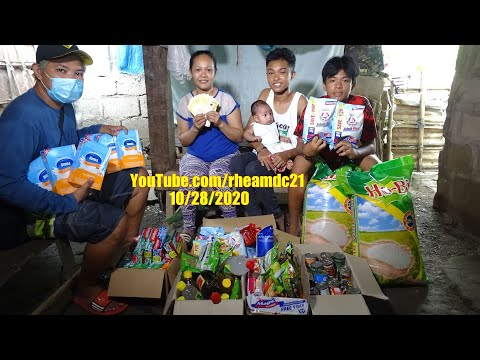 Thank you for Giving Help to this Poor Filipino Family. Thank you Mister Tom! The Philippines.