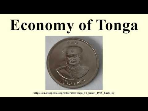 Economy of Tonga