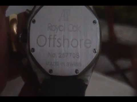 f5f4e662503 Relogio Audemars Piguet.MP4 - YouTube