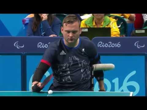 Table Tennis | GBR vs SUI | Men's Singles - Class 1 Group A | Rio 2016