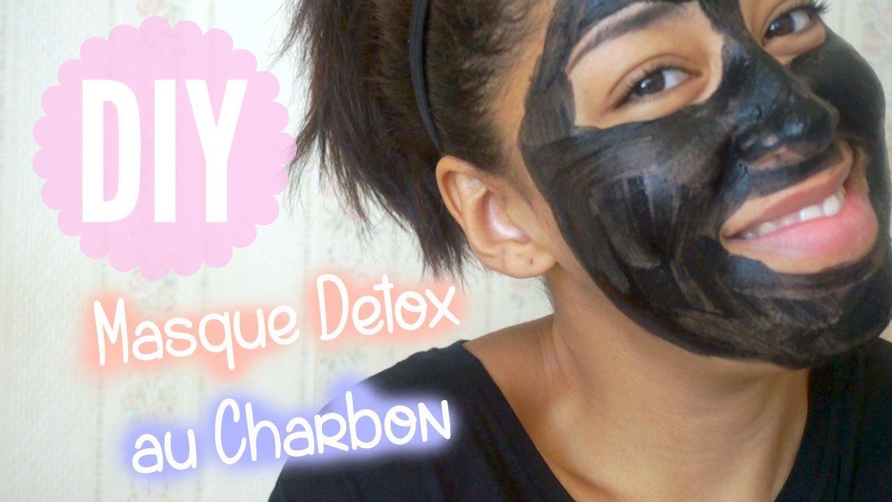 Diy faire un masque visage au charbon activ i diy fran ais youtube - Masque charbon maison ...