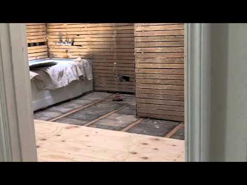 Installing Plywood Sub-Floor