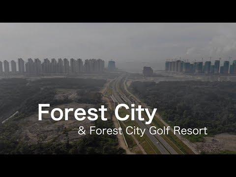 Forest City & Golf Resort - Progress as 11 December 2018