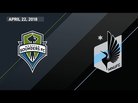 HIGHLIGHTS: Seattle Sounders vs. Minnesota United | April 22, 2018