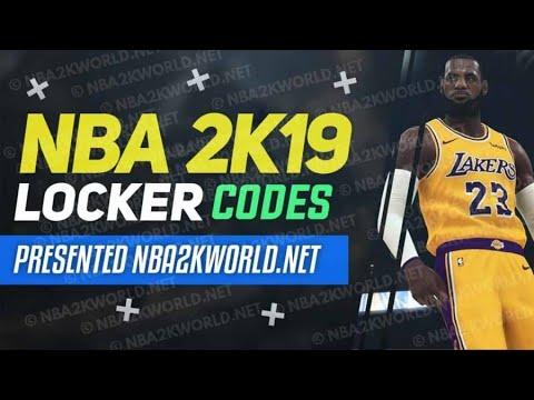 Nba 2k19 Locker Codes Youtube