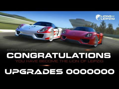 Real Racing 3 Lions Of Leipzig Stage 7 Complete Upgrades 0000000 Earning 60 Gold And Free Car RR3