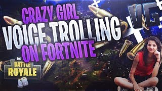CRAZY GAMER GIRLS TROLL FORTNITE PLAYERS!