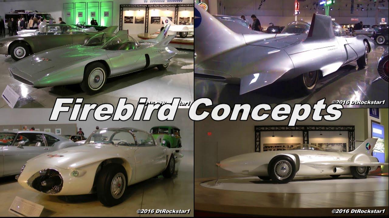gm firebird concepts firebird i firebird ii firebird iii youtube