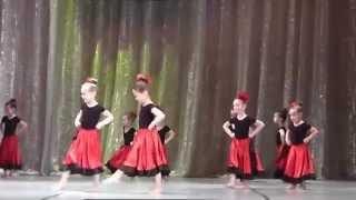 видео Арабеск - детская танцевальная школа в Москве