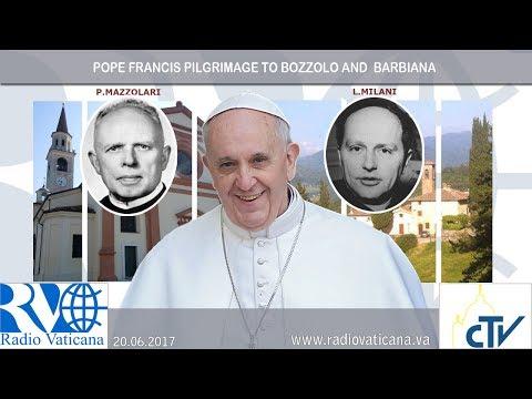 2017.06.20 Papa Francesco a Bozzolo - Visita alla tomba di Don Primo