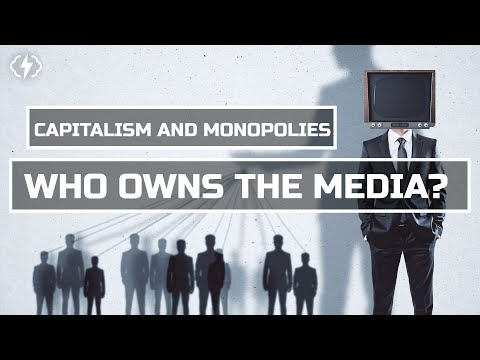 Capitalism And Monopolies: How Five Companies Control All US Media
