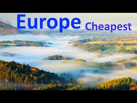 Top 10 Cheapest Countries To Live In Europe