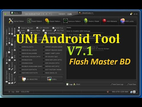 Uni-Android Tool V7.01 Full Cracked Without HWID