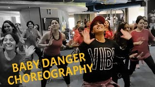 Merengue Dance Fitness Choreography by Vijaya Tupurani | Workshop Class | Wisin Ft. Sean Paul