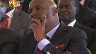 DP Ruto differs with Gideon Moi at Mark Too funeral