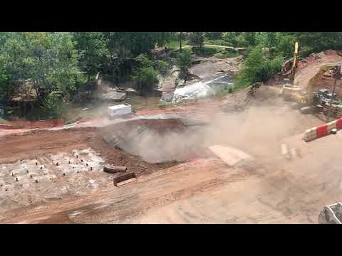 Slow Motion Video of Blast at Falls Park Mp3