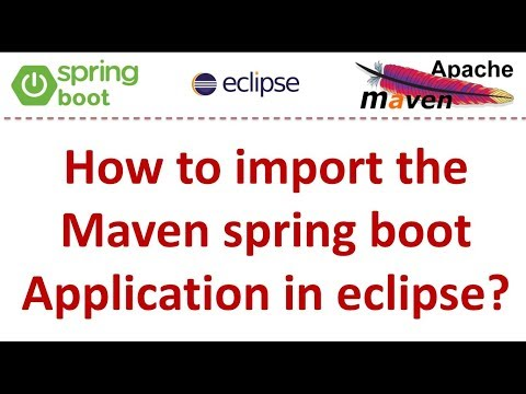 how-to-import-the-maven-spring-boot-application-in-eclipse?-|-spring-boot-tutorial