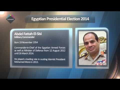 Egypt Presidential Election Candidates 2014