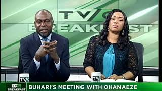 TVC Breakfast 17th October 2017 | Buhari's Meeting With Ohaneze