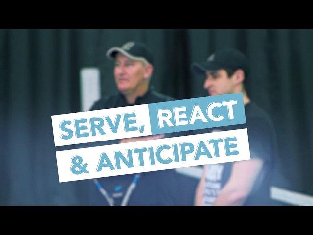 Regional Training Center Drills: Serve, React and Anticipate  - Buy American