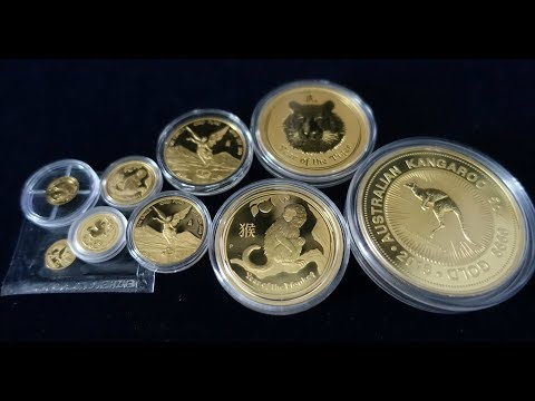 Favorite Gold Coin Size 0.5g - 5 Oz