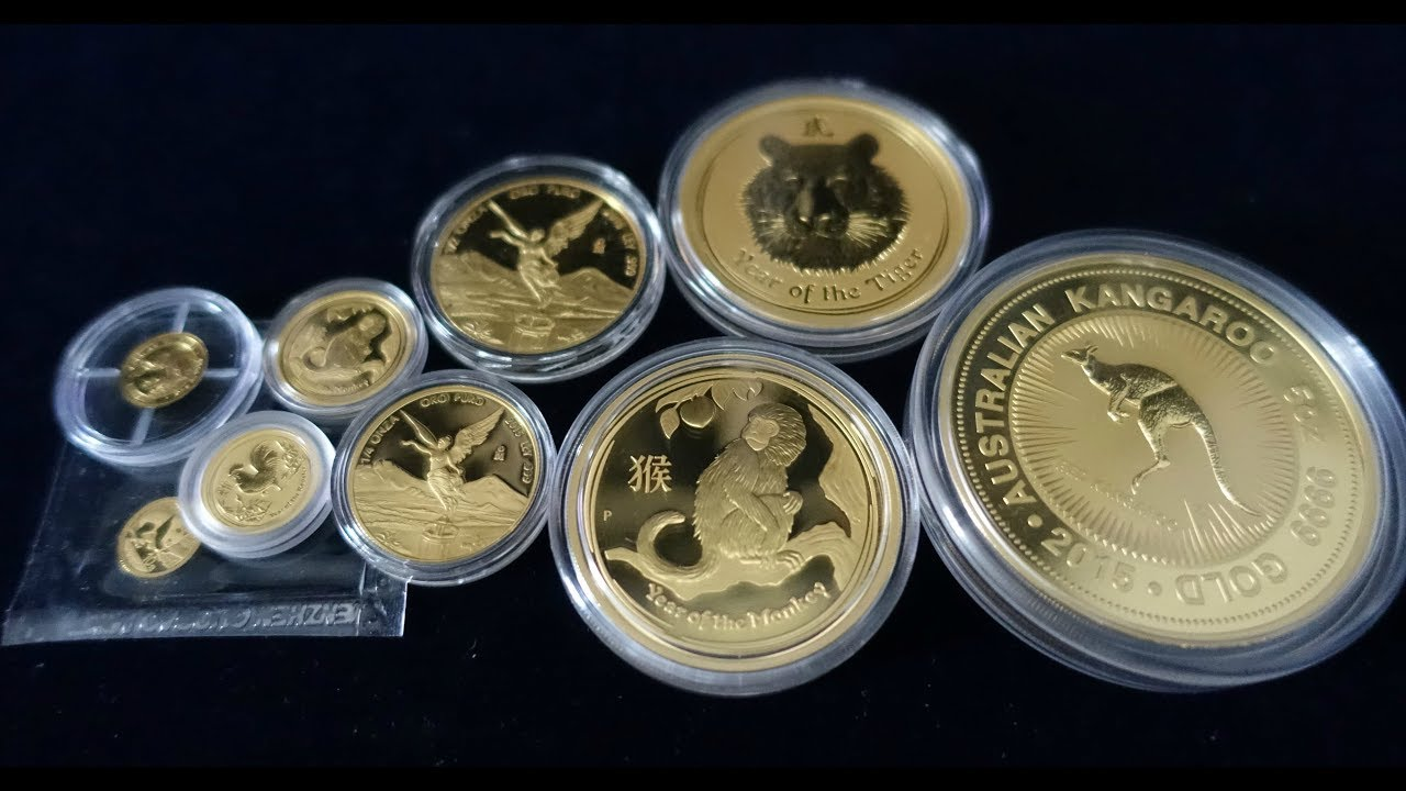 Favorite Gold Coin Size 0 5g 5 Oz