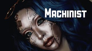 ハロウィンメイク | MACHINIST MAKEUP TUTORIAL . Halloween