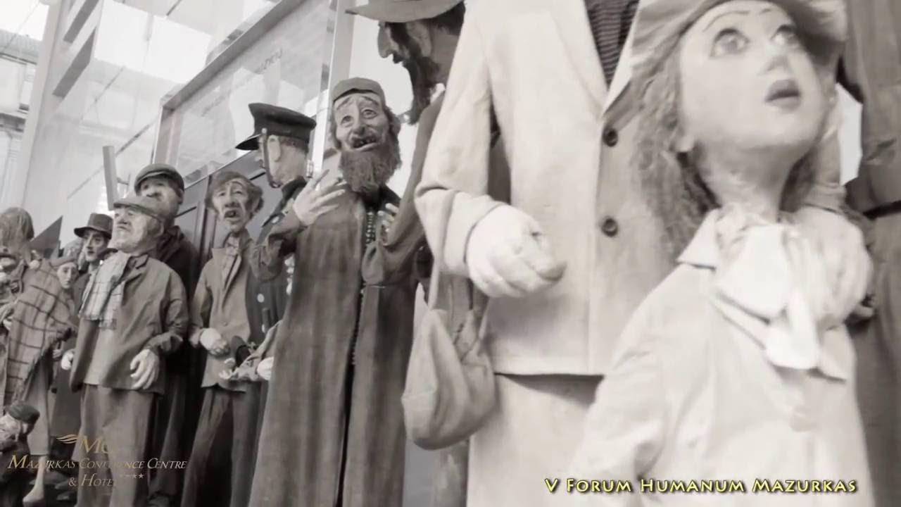 V Forum Humanum Mazurkas - fragment z filmu o Leszku Puchalskim-wybitnym artyście-rzeźbiarzu