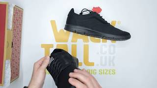 Vans ISO 1.5 - Black Black - Unboxing   Walktall