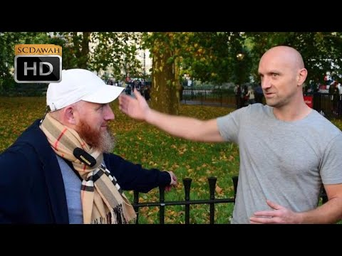 Prophecy Problems! Hamza & Open minded visitor | Speakers Corner | Hyde Park