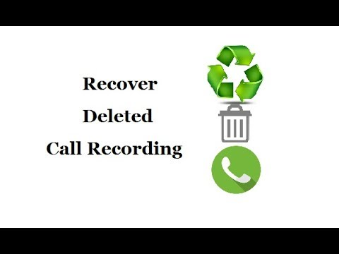 Recover Deleted Call Recording in Android
