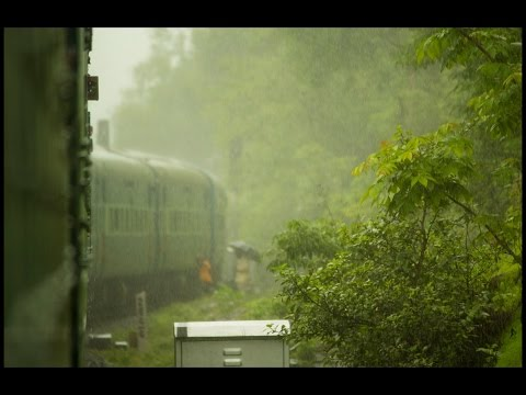 Journey Through The picturesque Konkan Coast Of India During Monsoon On Mandovi Express