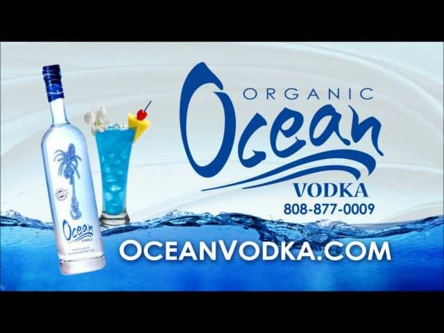 Organic Ocean Vodka -- Hawaii 808-877-0009
