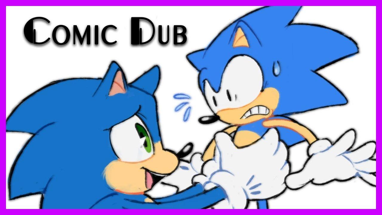 Movie Sonic Meets Classic! - Sonic Comic Dub