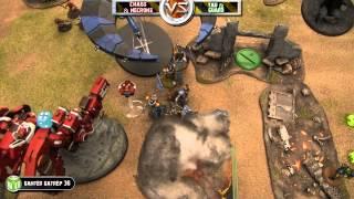 Chaos & Necrons Vs Tau & Imperial Guard 40k Battle Report   Banter Batrep Ep 36