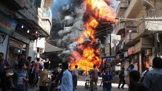 قبيل ساعات من الهدنة .. قصف بدمشق وحلب وحمص