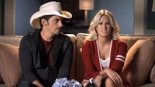 Maybe Brad & Carrie should stick to hosting the CMA Awards Nov. 1 on ABC!