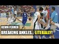 Watch: Kevin Ferrer Breaking Ankles...Literally!!!