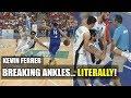 Watch: Kevin Ferrer Breaking Ankles...Literally!!!