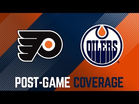 LIVE | Post-Game Coverage – Oilers vs. Flyers