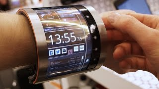 FlexEnable's flexible display
