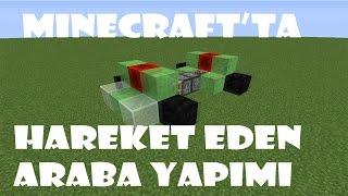 Minecraft'ta Hareket Eden Araba Yapma!!
